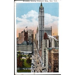 Broadway showing Woolworth...