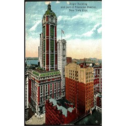 Singer Building and part of...